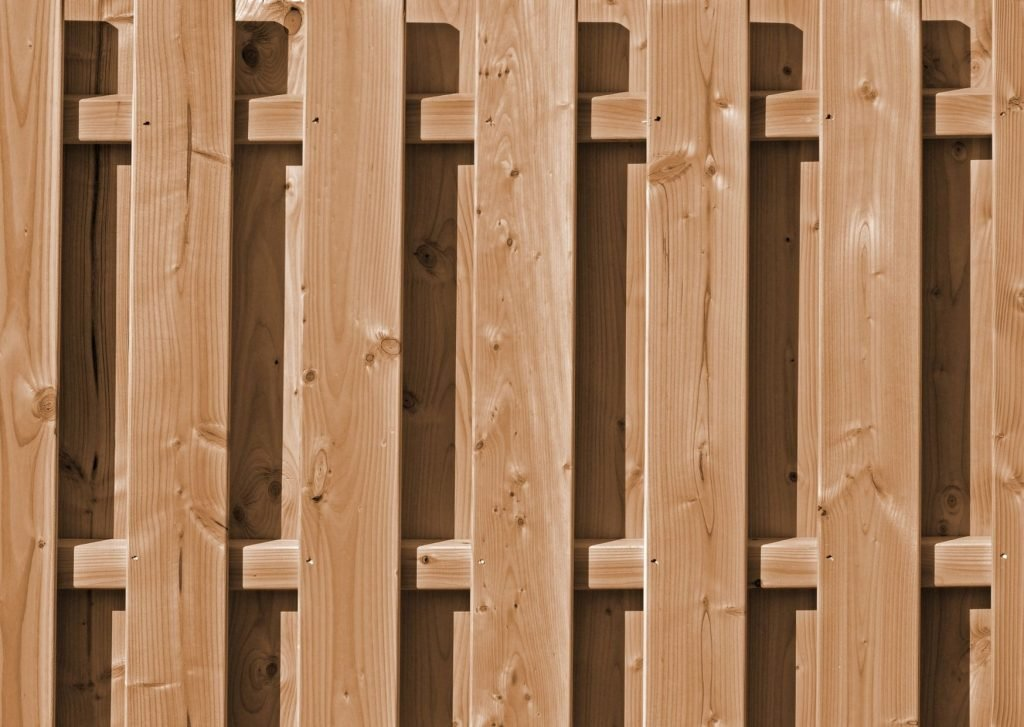 newly installed timber retaining wall panel | Geelong Retaining Walls